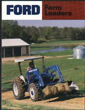 Ford Farm Tractor Loaders Brochure Leaflet