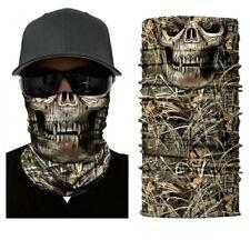 Dregs Skull Camo Face Shield Sun Mask Balaclava Neck Gaiter Bandana UV Headwear