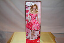 NIB BARBIE DOLL-LOVE-RARE CANADA/CANADIAN VERSION-2001-VALENTINES DAY LOVE NOTES