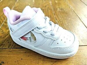Nike Court Borough Girls Shoes Trainers Uk Size 6.5    Toddlers  CZ6614 100