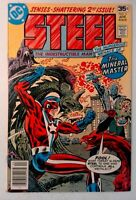 Steel the Indestructible Man #2 DC 1978 VF- Bronze Age Comic Book 1st Print