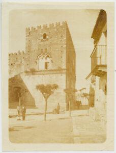 Giuseppe Bruno Taormina Master Von Gloeden Large vintage salt print 1860c XL534