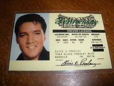 Elvis Presley Tennessee Driver License Souvenir  novelty