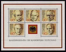 W Germany 1982 Presidents SG MS2010 MNH