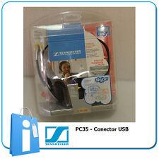 Kopfhörer Kopfhörer für PC Computer Sennheiser PC35 Skype - Connector USB Win XP