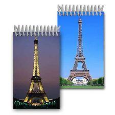"Eiffel Tower Paris France Spiral Notebook Flip Lenticular 2x4""144 Page #NBM-602#"