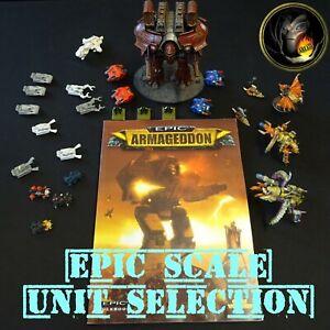 EPIC SCALE MULTILIST - Epic Armageddon Battlefleet Gothic Space Marine 40K - A16