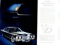 "1971 Cadillac Fleetwood Brougham Original Vintage Print Ad 8.5 x 11"""