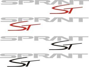 Triumph Sprint ST vinyl stickers
