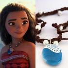 Moana Necklaces Princess Chain Vaiana Necklace Cosplay Props Pendant Souvenir