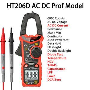 Digital Zangenmultimeter Multimeter AC DC Amperemeter Strommesszange Stromzange