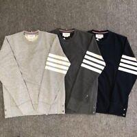 Thom Browne 4 bar striped Cotton/&wool socks gift box 6 Pairs UK