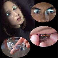 Fashion LED Eyelashes Eyelid False Eye Lashes Unisex For Icon Pub Club Bar Party