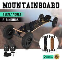 Planche à roulettes Tout Terrain Mountainboard Skateboard Fixations en Croisi