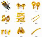 Aluminum Upgrade Part for HIMOTO 1/18 E18XB E18XBL E18DB E18DBL E18MT Car yellow