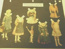 Christmas Party, Around the World Vintage paper dolls by Sheila Young -