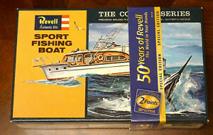 REVELL SPORT FISHING BOAT 50TH ANNIVERSARY SPECIAL EDITION MODEL KIT - SEALED