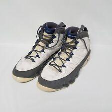 Nike Air Jordan 9 IX Retro White French Blue Flint Gray Shoes 302370-141 Size 13