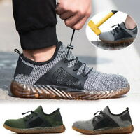 Men's Safety Shoes Steel Toe Work Puncture Proof Footwear Non Slip Shoes F/1