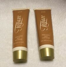 Avon Topaze Perfumed Skin Softener Lotion 4.5 oz 1991 Lot Of 2