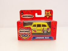 Matchbox 50th Year Collection Yellow London Taxi Cab