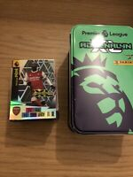 PANINI ADRENALYN XL PREMIER LEAGUE 2020/21 EMPTY MEGA TIN + 150 CARDS + LIMITED