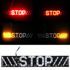 Motorcycle Stop Brake Turn Signal License Plate Light for Bobber Chopper Custom