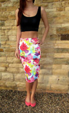 Floral Knee Length Skirts Size Tall for Women