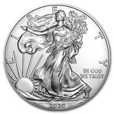 Six 1 oz American Silver Eagle Coin - Brilliant Uncirculated
