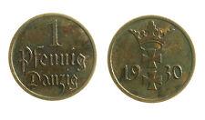 pcc1953_7) Germany Free City of Danzig - 1 Pfennig 1930