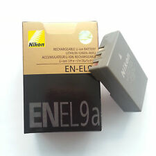 New EN-EL9a Battery For Nikon DSLR D40 D40x D60 D3000 D5000 Kit Camera