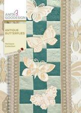 Antique Butterflies Anita Goodesign Embroidery Machine Design Cd New 151Aghd