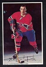 GUY LAPOINTE 1971-72 Color Postcard PRO STAR NM+ Very Nice!! CANADIENS