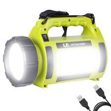 10W 1000lm 3 Modi LED Suchscheinwerfer Handscheinwerfer Camping Laterne USB inkl