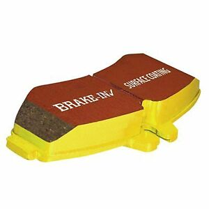 EBC Yellowstuff Brake Pad Set DP41377 fits Lotus Exige 1.8 16V, 1.8 S, 111R, ...