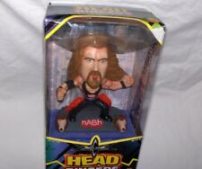 NASH  Head Ringers-WCW-Figur auf Podest, ca.20 cm  Wrestling---Neu,OVP,RAR
