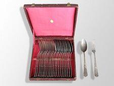 ménagère métal argenté 12 c + 12 f