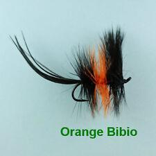 ORANGE BIBIO DAPPING TROUT FLY - size 8
