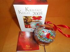 "Hutschenreuther Kristallkugel  2005  ""  Neu OVP  Glaskugel Russland"