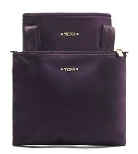 Tumi Women's Just In Case North/South Tote in purple nwt