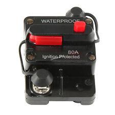 New listing 80 Amp Circuit Breaker Trolling w/ Manual Reset Car Marine Trolling Motors Boat