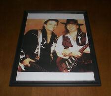 Stevie Ray Vaughan & Jimmie Lee Vaughan Framed Print
