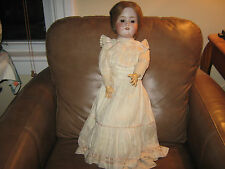 23 inch Jointed doll CM Bergmann Halbig Doll S & H  German Bisque
