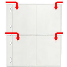 StoreSMART Photo Page for 3-Ring Binders Archival-Safe Plastic 25Pk VP197-25