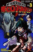My Hero Academia Vol. 3 Japanese Edition Manga F/S Jump Comics Book From Japan
