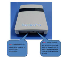 ISO18000-6C Passive Small Size UHF RFID Reader/writer with Two USB Ports+tags