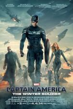 """Captain America ( 11"""" x 16.25"""" ) Movie Collector's Poster Print ( T4 ) - B2G1F"""