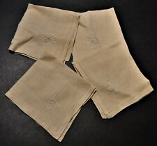 Linen Napkins set of 4 Made of light material. See Pictures