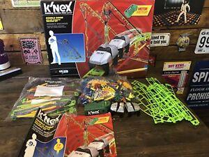 Knex Double Doom Roller Coaster construction Kit 891 piece box instructions
