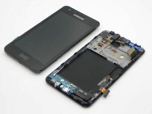 Original LCD Samsung Galaxy S2 i9100 Display Screen with Frame
